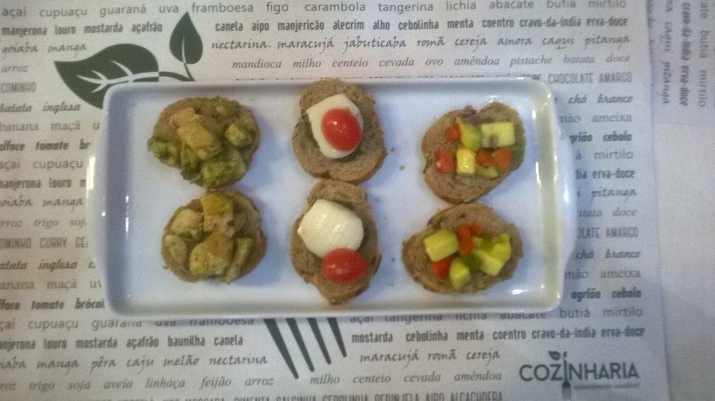 restaurante cozinharia criciua ale koga comida saudável mix bruschetta